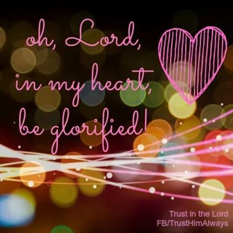 Lord Be Glorified TODAY! | Scripture Prayers